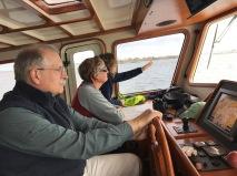 Navigating Narraganset Bay